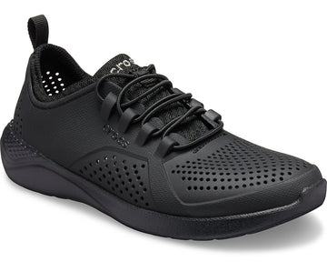 CROCS LITERIDE PACER KIDS BLACK