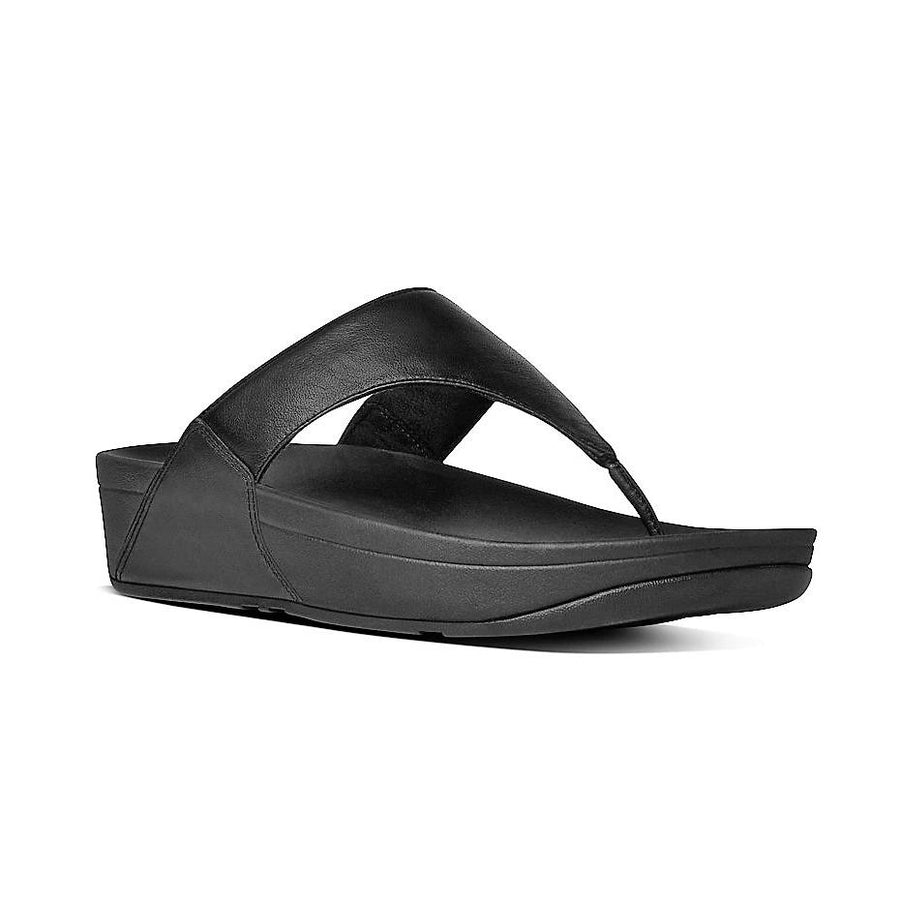 FIT FLOP LULU LEATHER BLACK