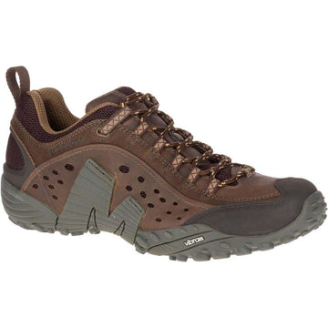 MERRELL INTERCEPT DARK BROWN Gents, gents casual, Gents Shoes, gents sneakers, hiking, merrell
