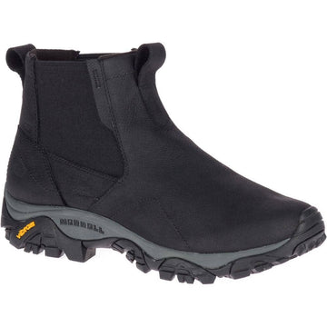 MERRELL MOAB CHELSEA BLACK Gents, gents boots, gents casual, Gents Shoes, gents sneakers, hiking, merrell