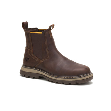 CAT FAIRBANKS CHELSEA STEEL TOE BROWN