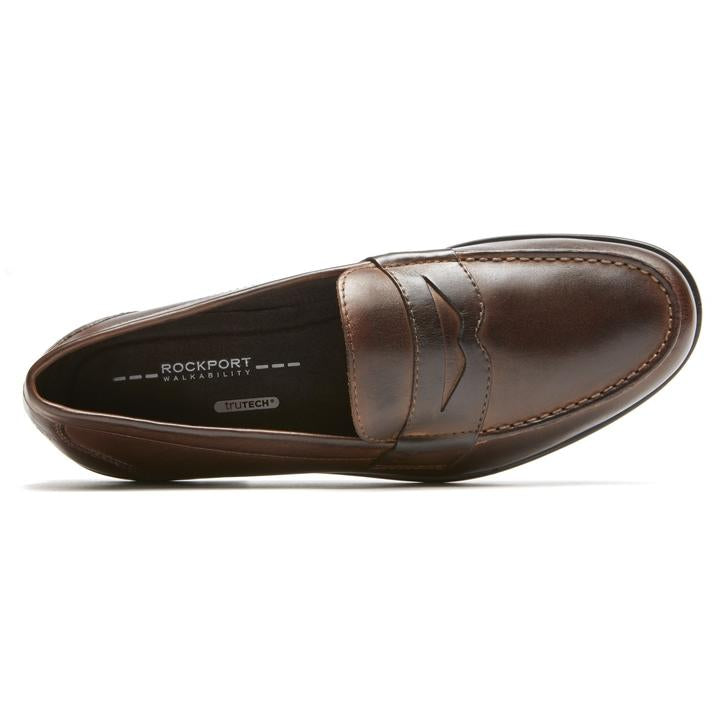 ROCKPORT CLASSIC LOAFER PENNY Burgandy