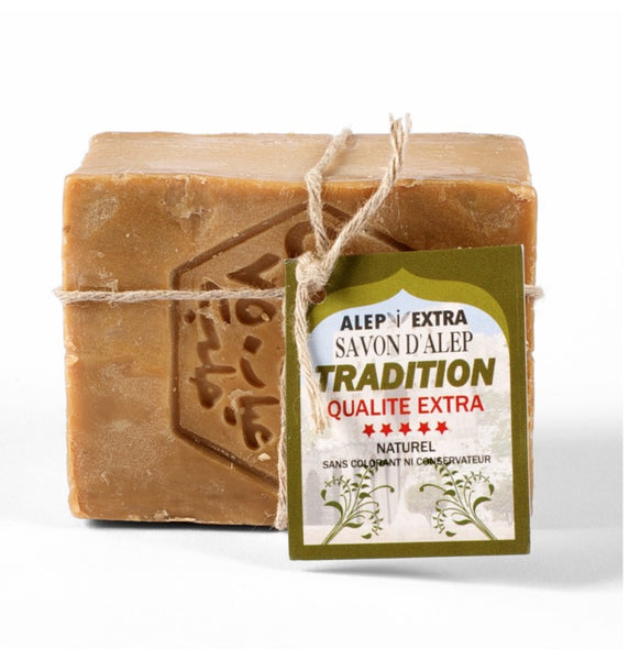 "Aleppo soap rope ""Tradition"" 200gr For Sensitive Skin"