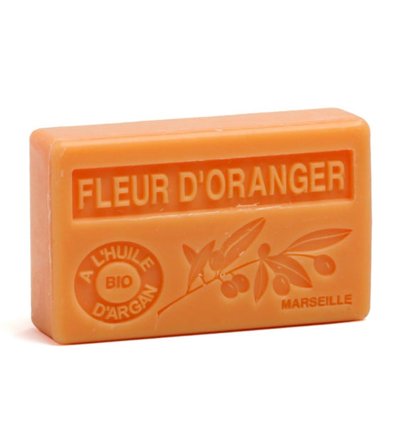 Organic Argan Oil French soap Orange Blossom Neroli