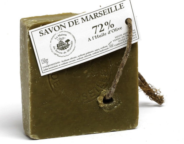 Savon de Marseille Roughly Cut Soap With Olive Oil Original Recipe 150g