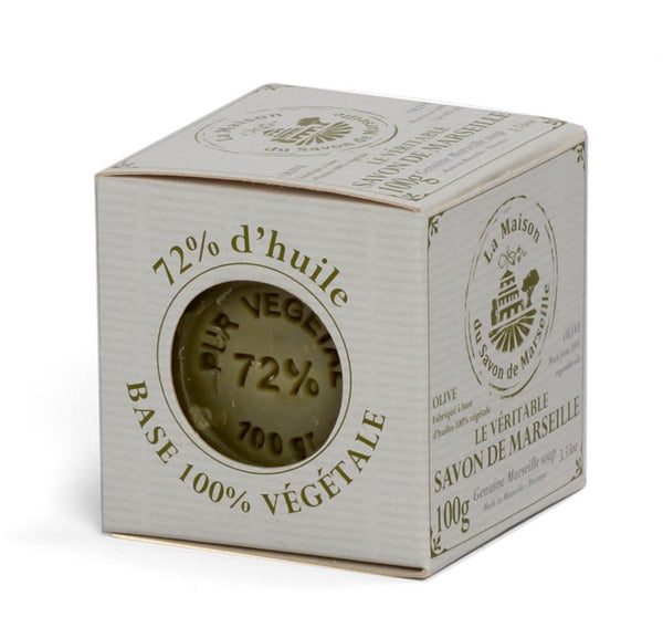 Savon de Marseille Cube With Olive Oil Original Recipe 100g