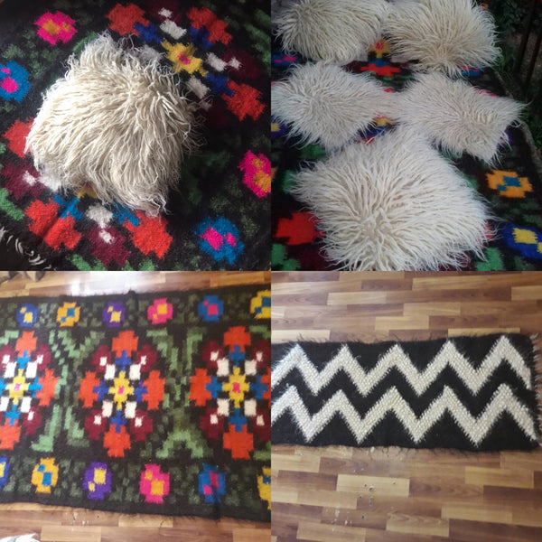 Thick Wool Rugs
