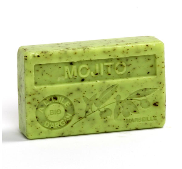 Organic Argan Oil French soap Mojito