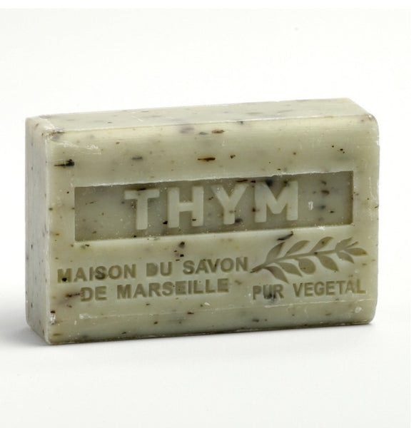 Shea Butter French soap with Crushed Thyme