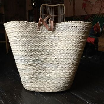 Gigantic Handmade Basket Shopping, Travel And Storage