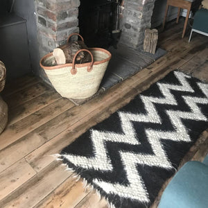 Zigzag Thick Wool Rugs