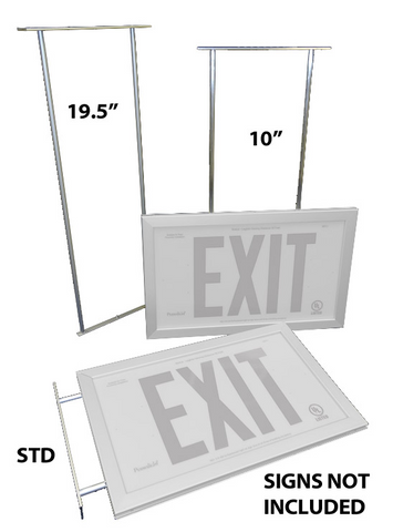 1.5 inch Mount for Ceiling or Perpendicular Flag Positioning