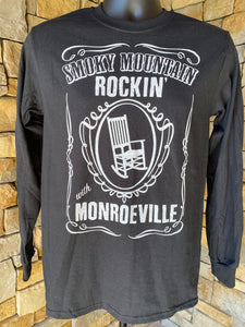 """Smoky Mountain Rockin' with Monroeville"" Long-Sleeve T-Shirt"