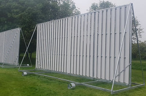 Cricket Sight Screen - Professional Revolving 4m