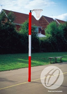 Netball Post Protectors 3 Panel Competition 50mm