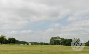 Rugby Posts 10.6m Aluminium Demountable