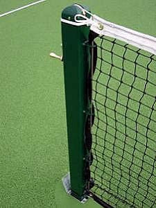 "Tennis Posts 76mm (3"") Square Steel"