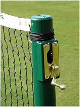"Tennis Posts 76mm (3"") Round Aluminium"