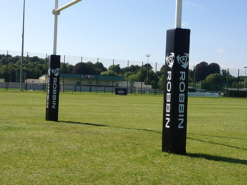Rugby Posts - 11m Aluminium Socketed