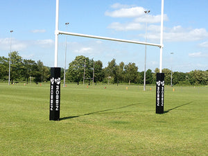 Rugby Posts 11m Steel Hinged