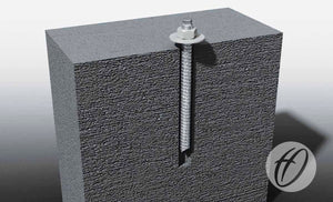 Chem Bolt Anchors for Shelters