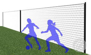 Pitch Divider System with Net