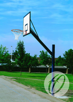 Cantilever Basketball Goals