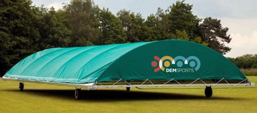 Cricket Wicket Cover - Club Dome