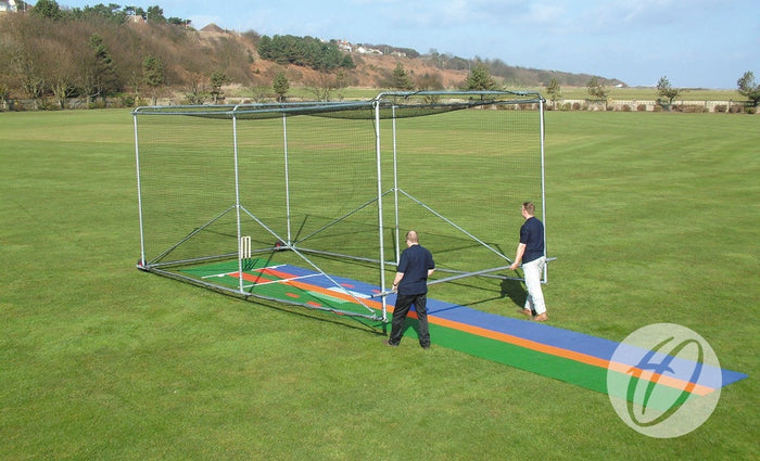Cricket Cage - Freestanding Premier Portable - 2 wheels