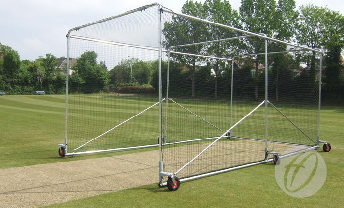 Cricket Cage - Freestanding Premier Portable - 6 wheels