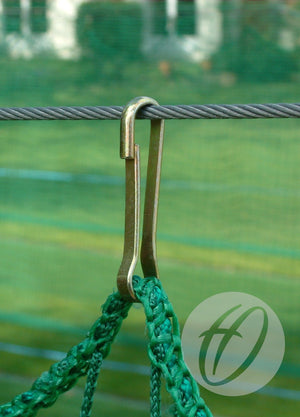 Cricket Net Dog Clips