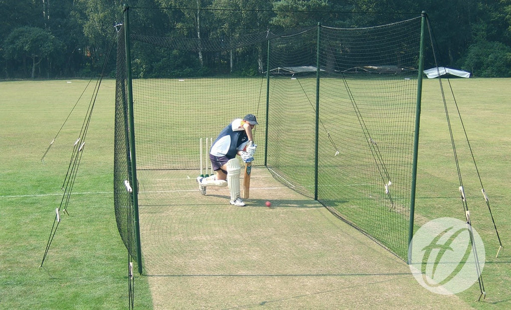 Premier Wooden Pole Cricket Bay
