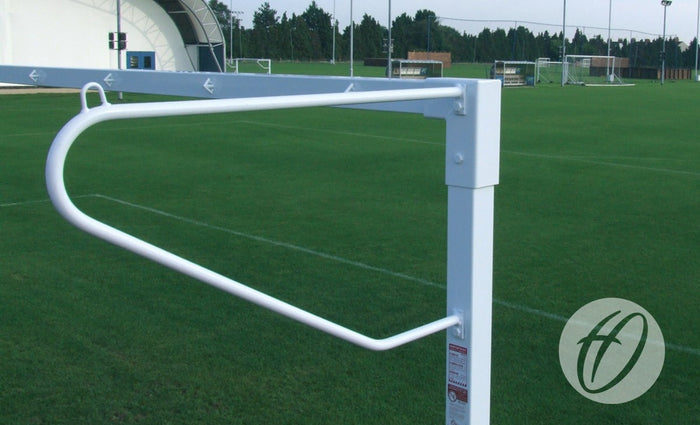 Football Net Supports - Solid Steel Continental