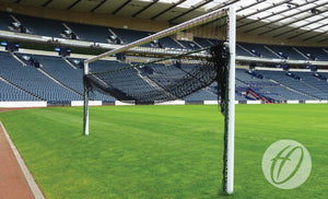 Football Net Support Bottom Hinged for Steel Goals