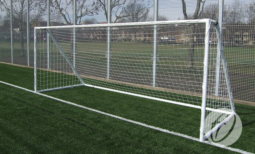 Football Goals Heavy-Duty Galvanised