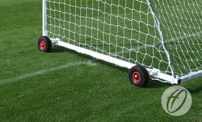 Football Goal Wheels - Flip-over Wheels for Freestanding Steel Football Goals