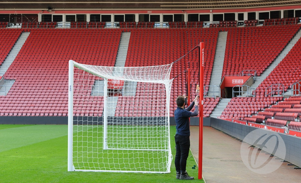 Football Net Supports Stadium Pro Freehanging - 4 Poles
