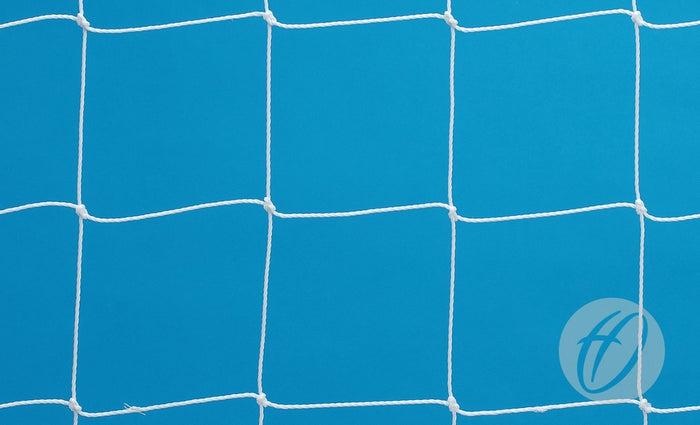 Mini Gaelic Football Net - White Self Weighted