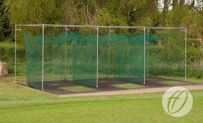 Golf Enclosure - Steel Double Bay