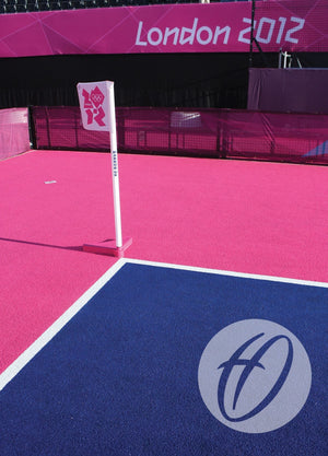 Hockey Corner Pole, Base and Flag