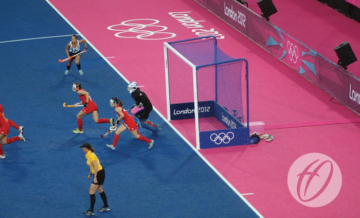 Hockey Goals - London 2012 Integral Weighted