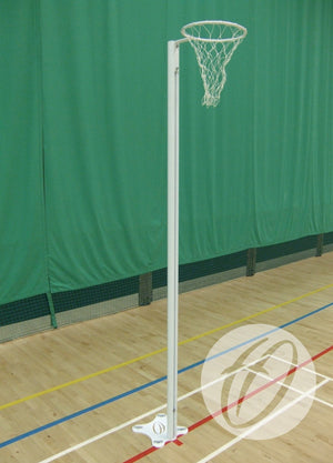 Socketed Indoor International Netball Posts