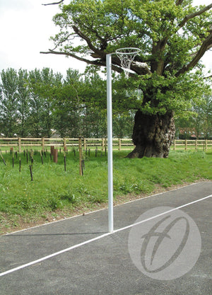 Outdoor Socketed International Netball Posts