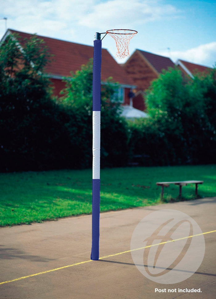Netball Post Protectors - 3 Panel Competition 80mm