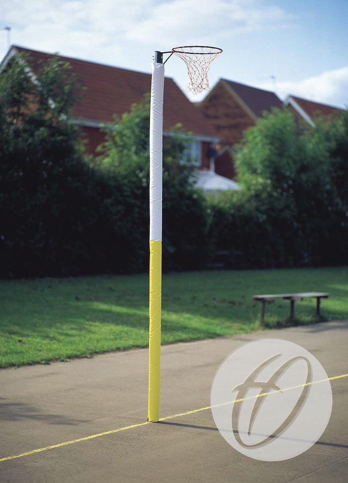 Netball Post Protectors - 2 Panel Competition 80mm