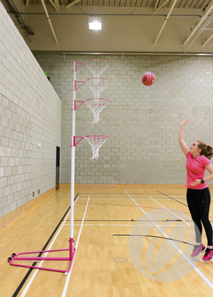 Telescopic Netball Post