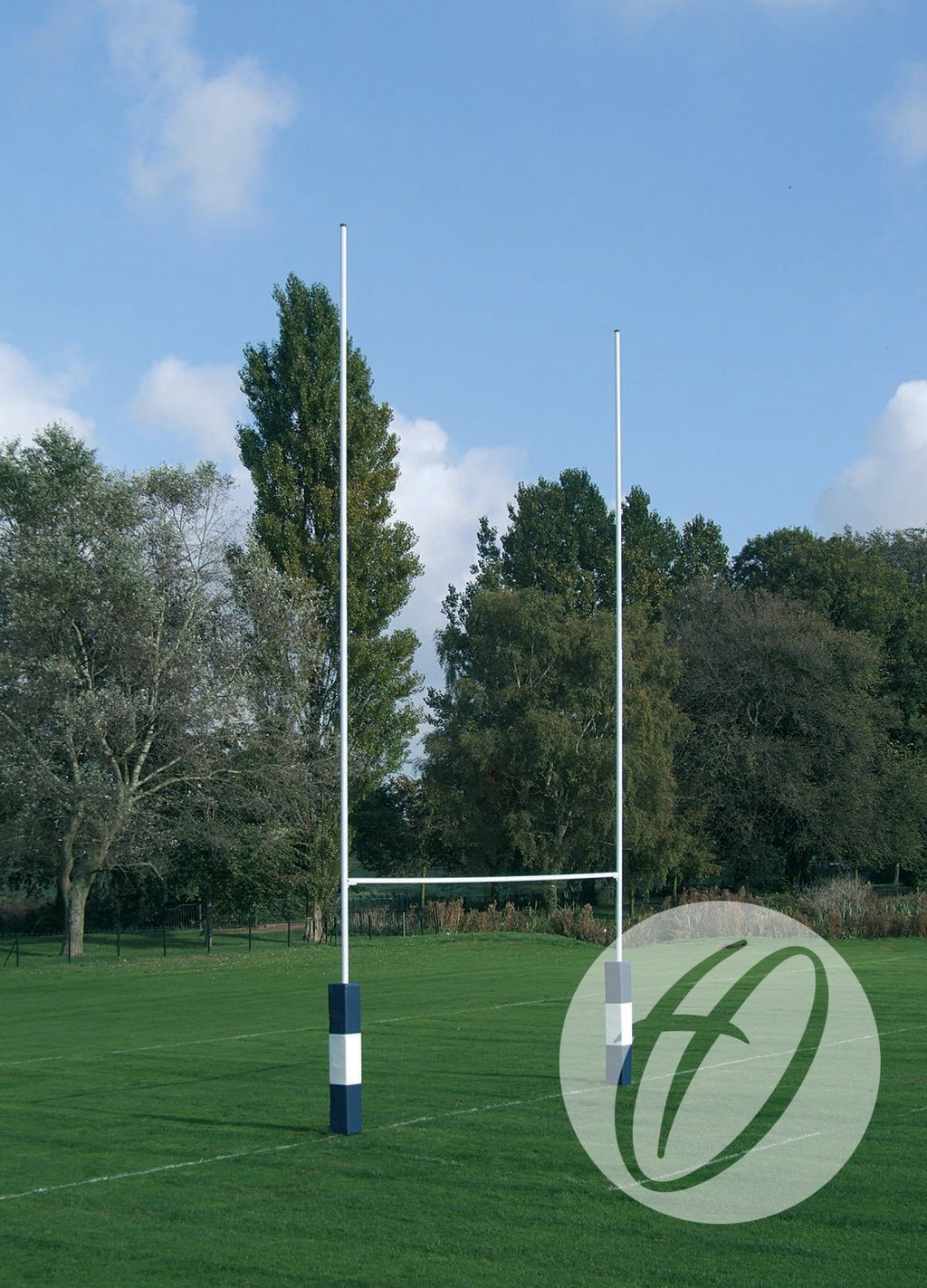 Rugby Posts 10m Hinged No. 2 Steel