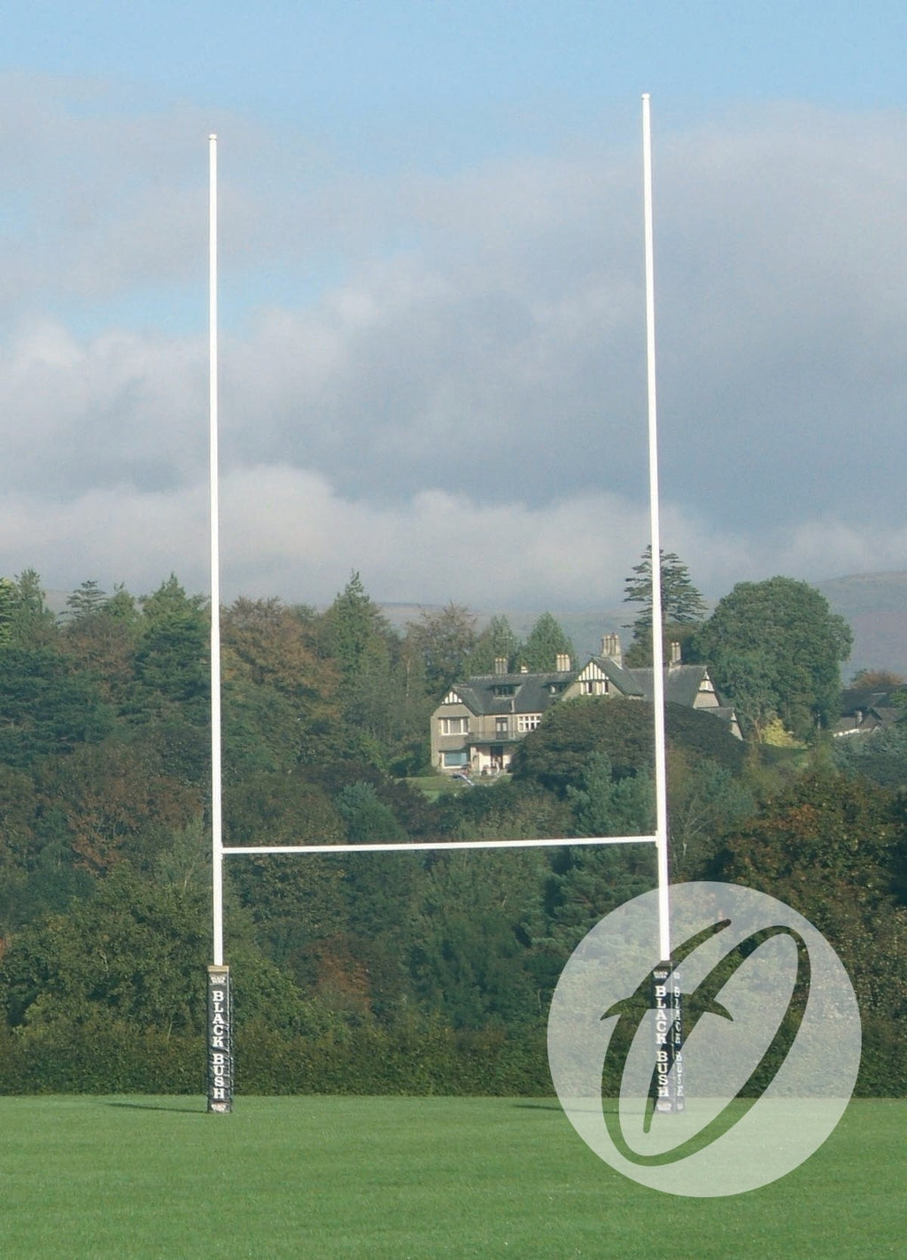 Rugby Posts 11m Hinged No. 1 Steel