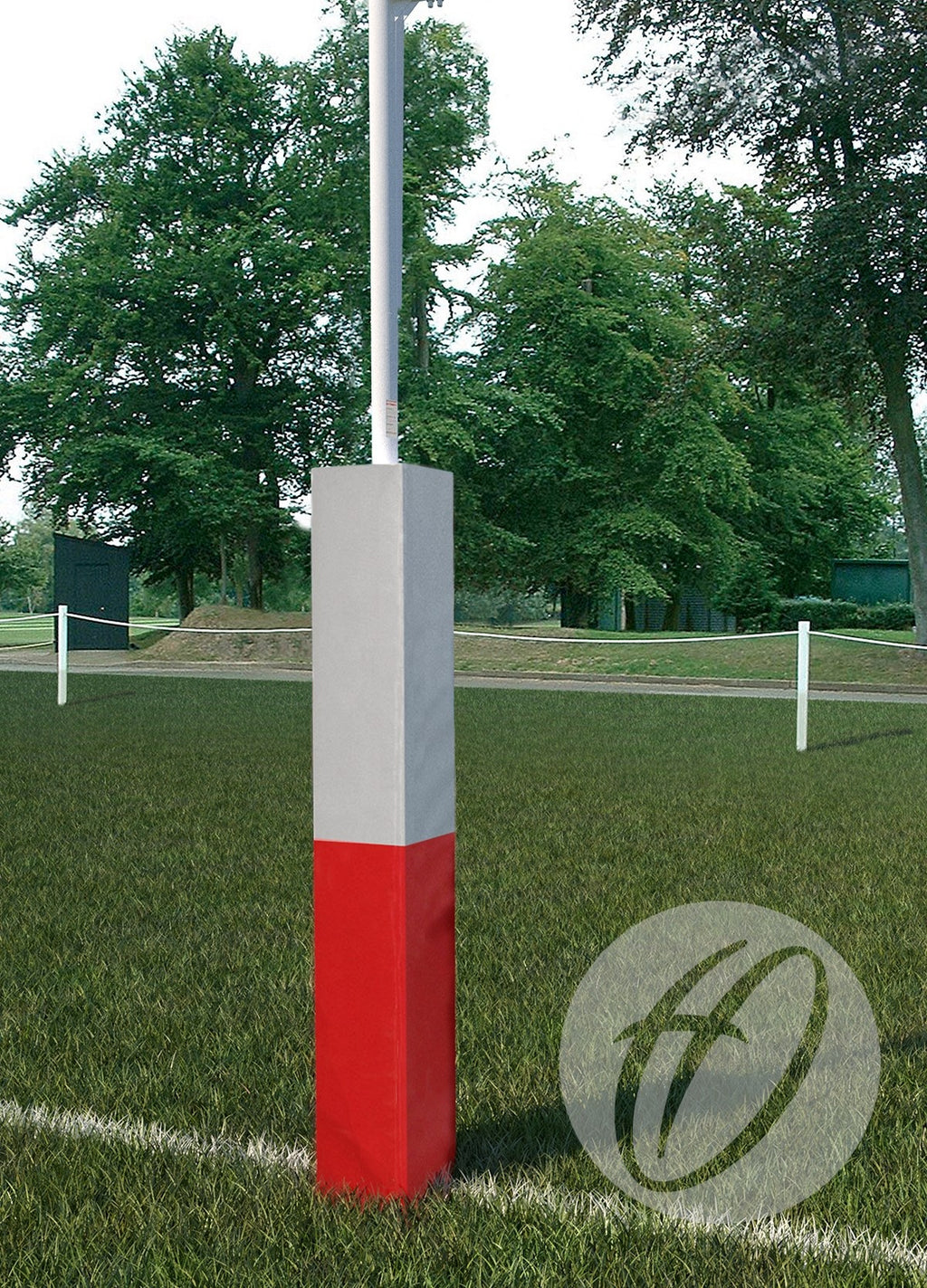 Rugby Post Protectors 2 Colour Club