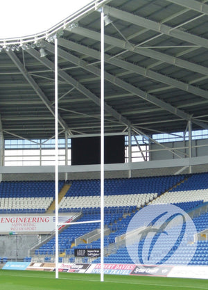 Rugby Posts 10m Socketed Aluminium